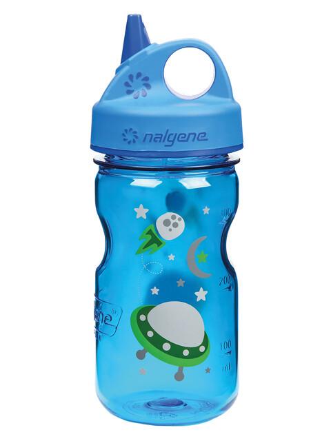Nalgene Everyday Grip-n-Gulp Trinkflasche 350ml blau space